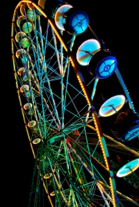 Ferris Wheel at Night (Tfioreze)