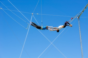 Flying Trapeze (Courtesy of Fearless Flyers Academy)