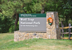 Wolf Trap National Park sign (Gregory F. Maxwell)  Did you know that the United States has a national park for the Performing Arts?